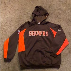 Reebok Cleveland Browns Hooded Sweatshirt